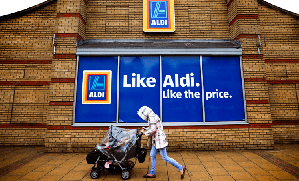 Aldi sued for copycat baby bag